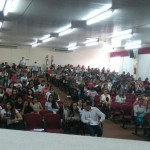 O evento contou com a presença  de mais de 600 expectadores.