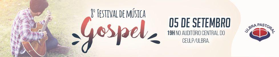 Inscrições abertas para a 8ª edição do Festival Gospel
