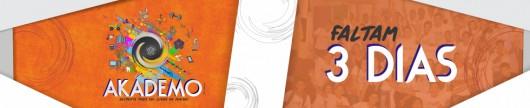 BNR - Contagem Regressiva Akádemo - 3 dias